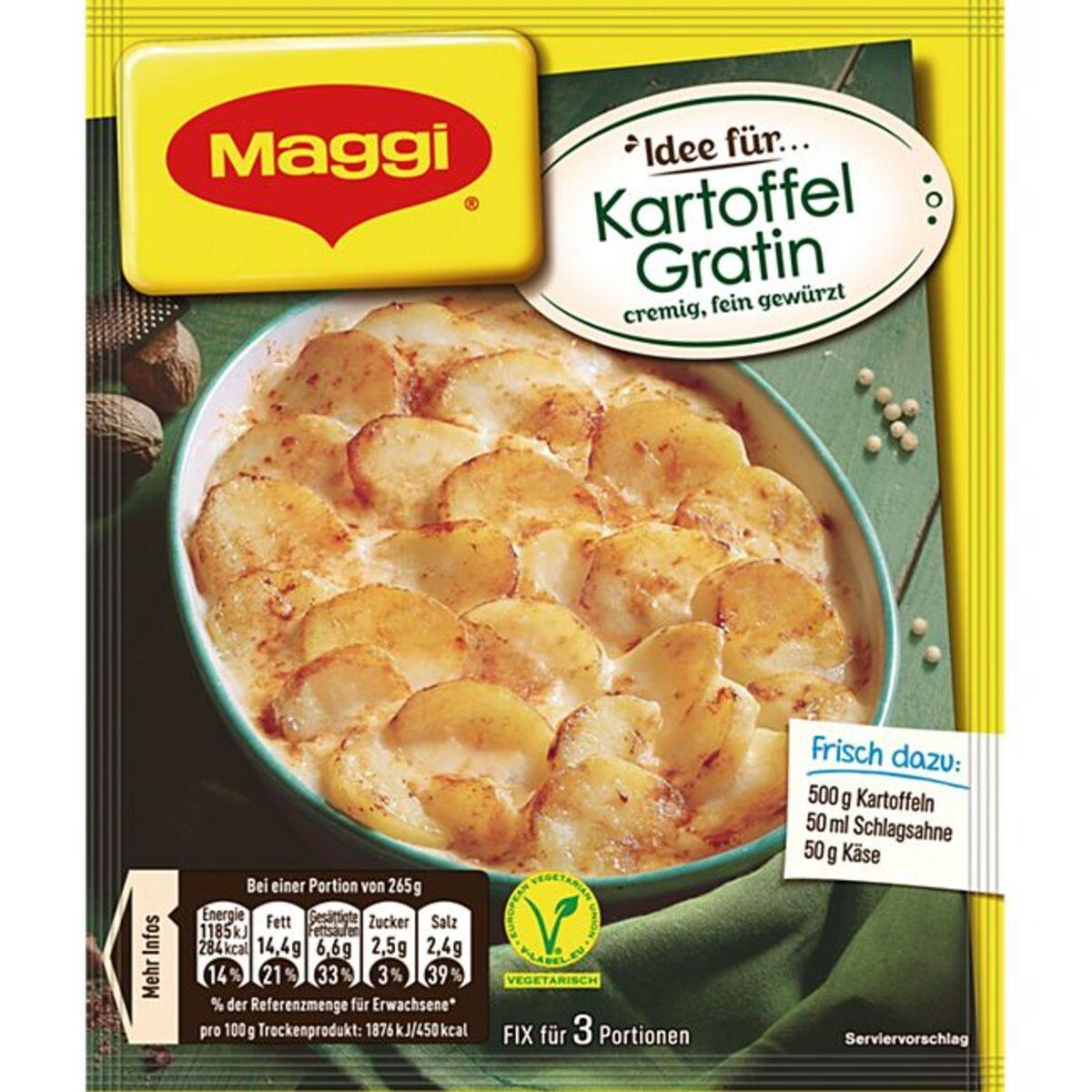 Bild 1 von Maggi Fix Kartoffel Gratin 43 g
