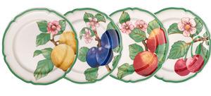Villeroy & Boch Speiseteller   Modern Fruits 4tlg.