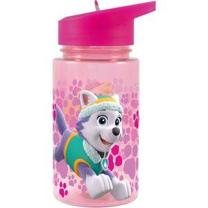 Paw Patrol - Trinkflasche mit Strohhalm