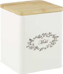 Box mit Deckel Lore Weiß Echtholz