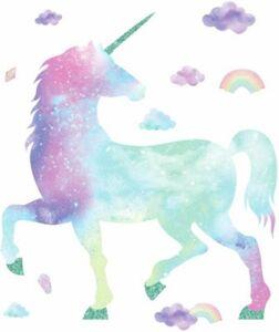 Wandsticker Galaxy Unicorn