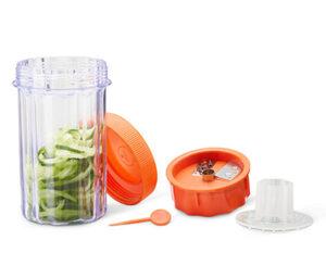 Gemüsespiralizer mit To-go-Behälter