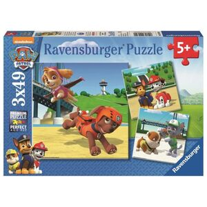 Puzzle-Box - Paw Patrol - Team auf 4 Pfoten - 3x49 Teile
