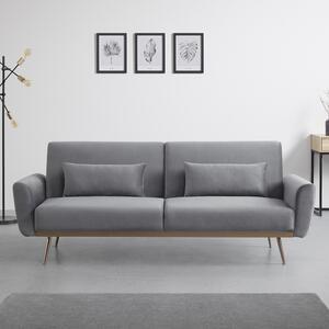 Sofa mit Schlaffunktion in Grau 'Guilia'