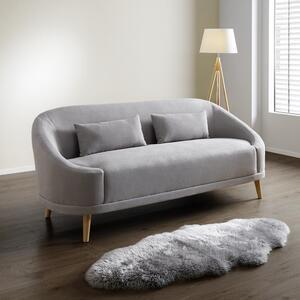 Dreisitzer Sofa in Grau 'Jannike'