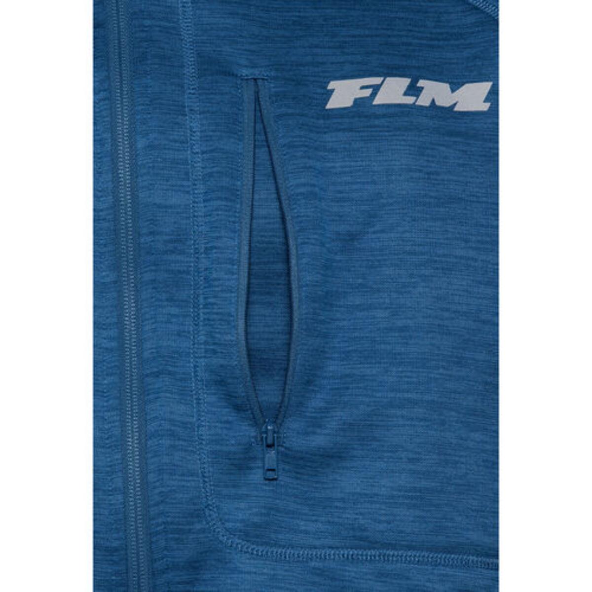 Bild 3 von FLM            Fleece Jacke 3.0 blau