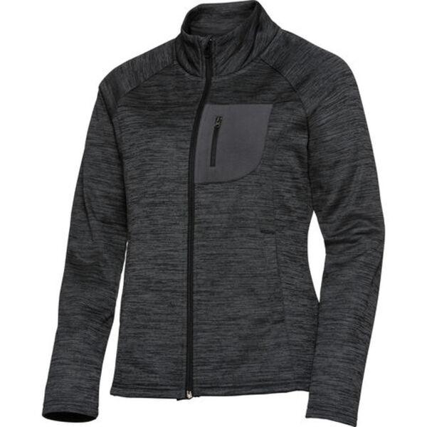 FLM            Fleece Jacke Damen 3.0 grau