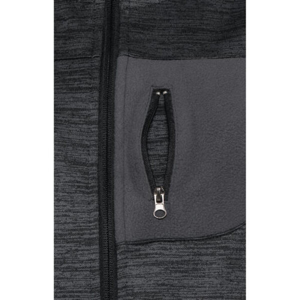 Bild 3 von FLM            Fleece Jacke Damen 3.0 grau