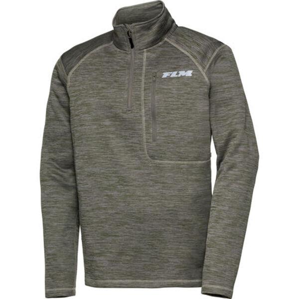 FLM            Fleece Pullover 3.0 grün