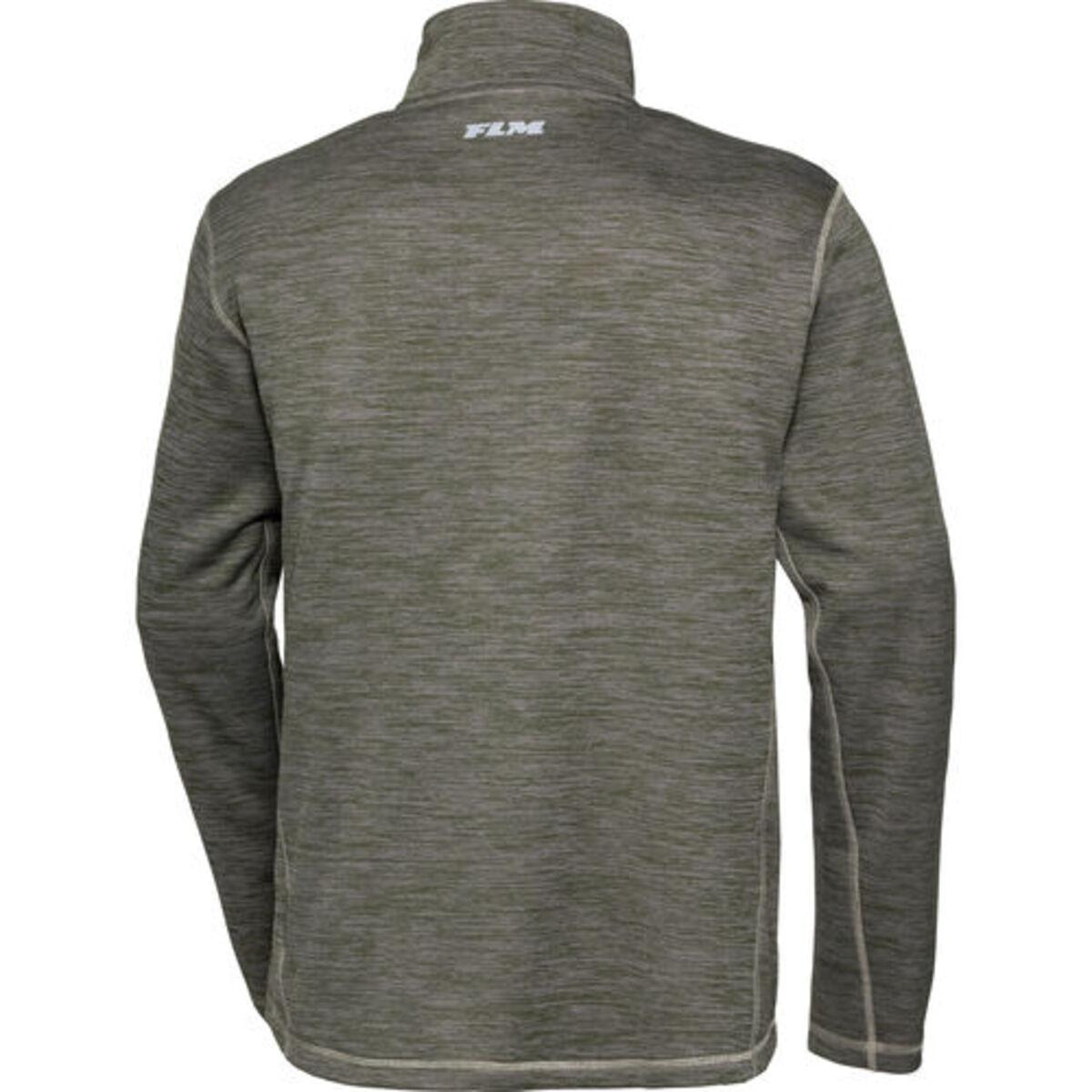 Bild 2 von FLM            Fleece Pullover 3.0 grün