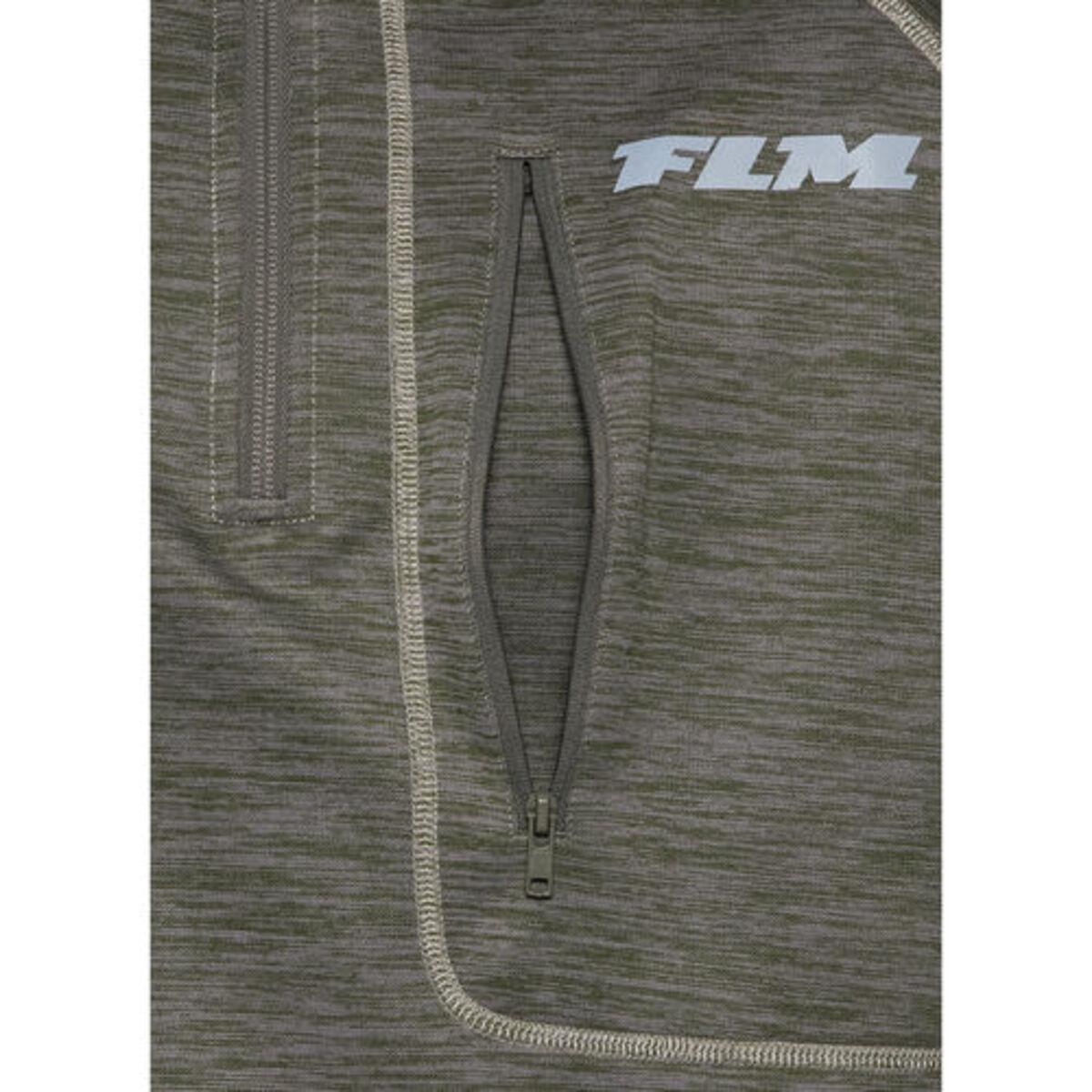Bild 3 von FLM            Fleece Pullover 3.0 grün