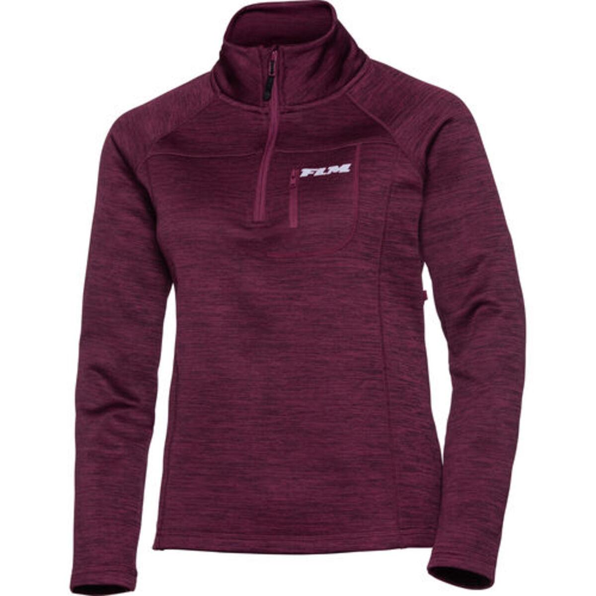 Bild 1 von FLM            Fleece Pullover Damen 3.0 violett