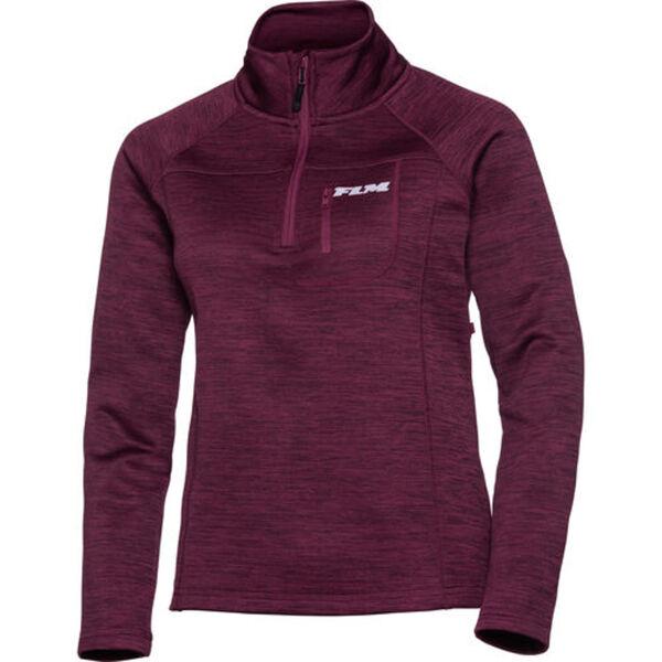 FLM            Fleece Pullover Damen 3.0 violett