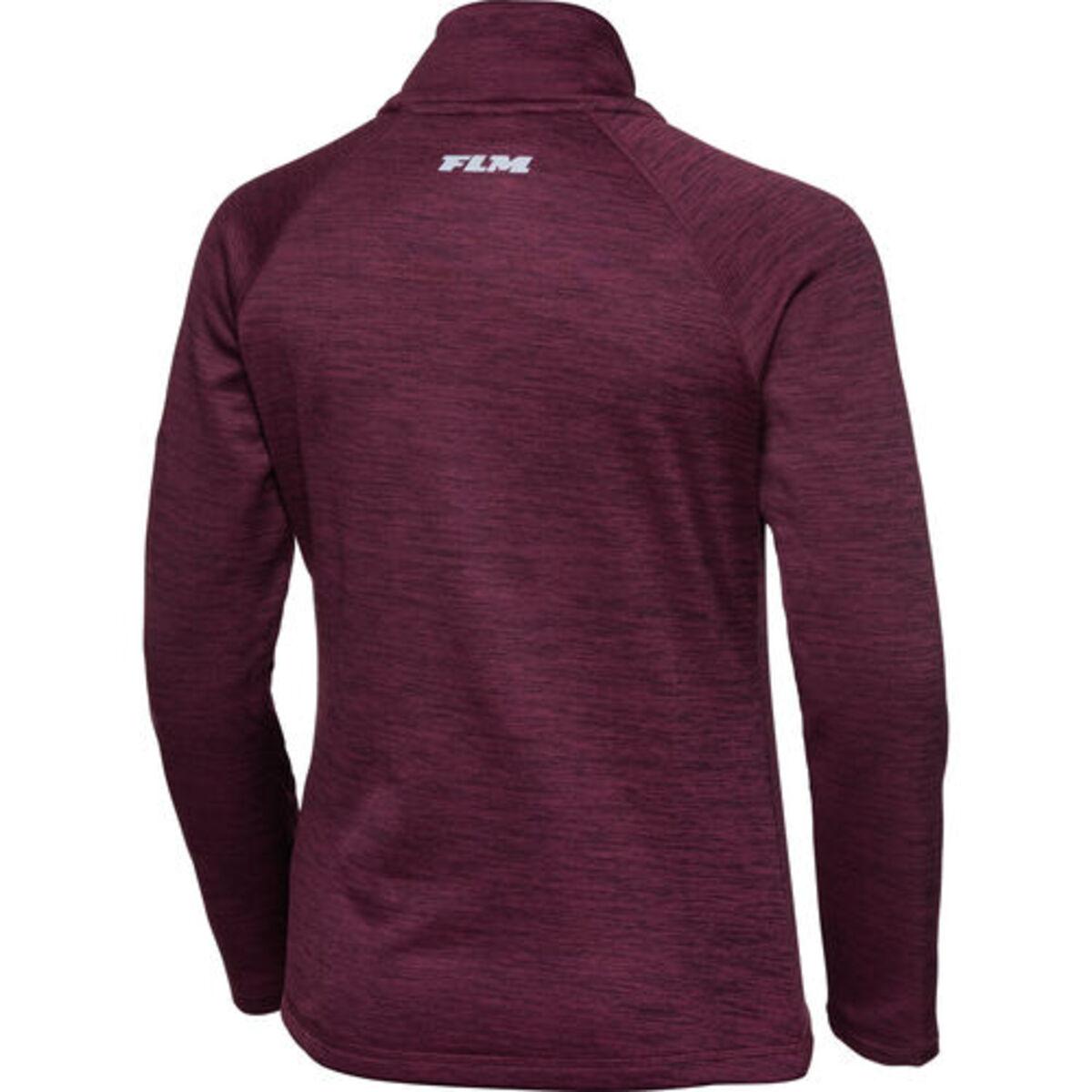 Bild 2 von FLM            Fleece Pullover Damen 3.0 violett