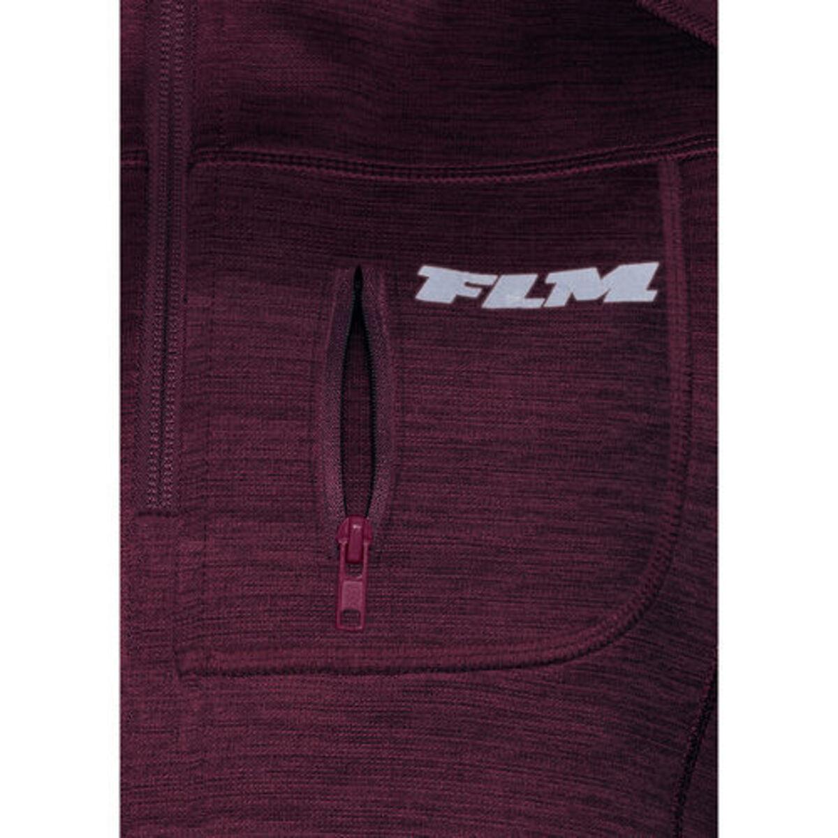 Bild 3 von FLM            Fleece Pullover Damen 3.0 violett