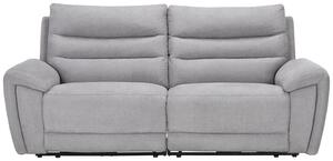 Sofa in Grau mit Relaxfunktion