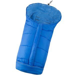 Fußsack mit Thermofüllung blau