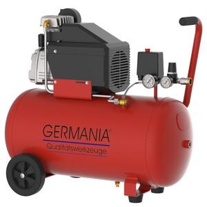 Germania Kompressor Typ 250/10/50 mit 50 Liter Kessel, ölfrei