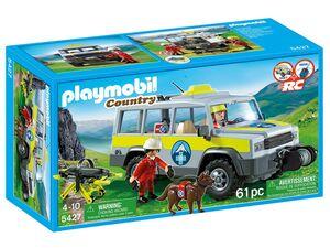 Playmobil Einsatzfahrzeug der Bergrettung