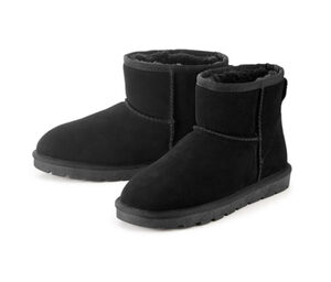 Veloursleder-Boots