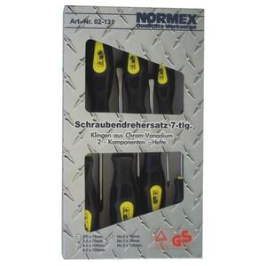 Normex Schraubendreher Set 7-tlg. Schrauben Werkzeug