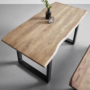 Esstisch aus Akazie Echtholz ca.160x85cm 'Malmo'
