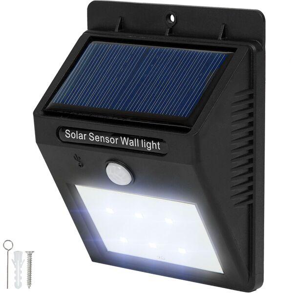 LED Solar Leuchte mit Bewegungsmelder