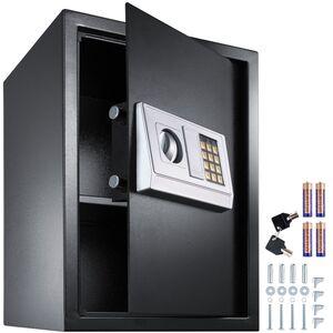 Elektronischer Safe Tresor mit Schlüssel und Einlegeboden inkl....