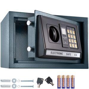 Elektronischer Safe Tresor mit Schlüssel und LED-Anzeige inkl....
