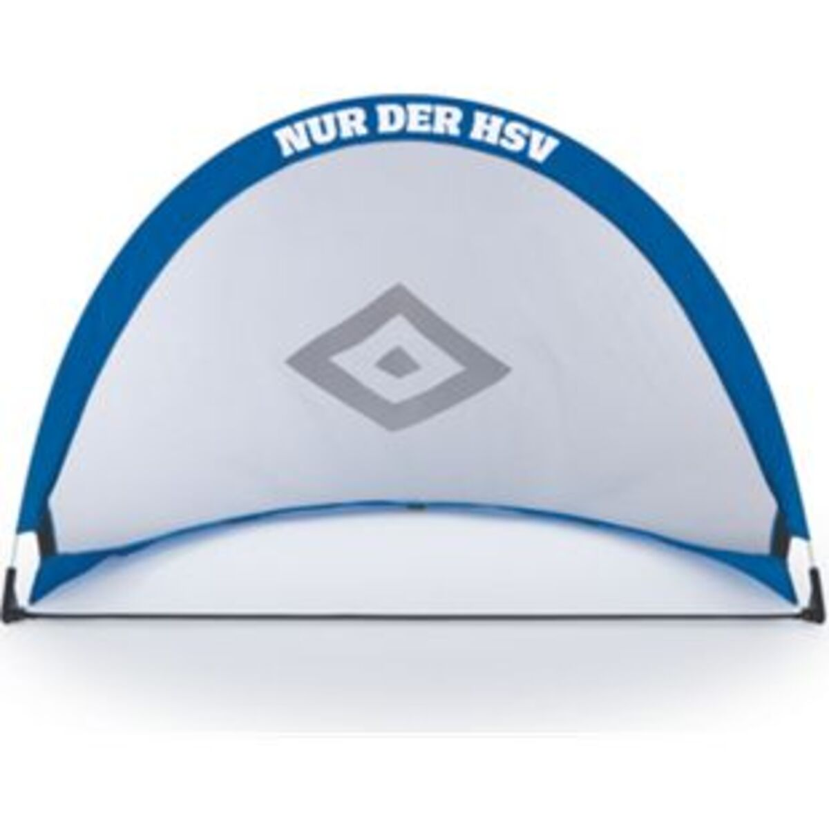 Bild 2 von HSV Fußballtor faltbar blau/weiß/schwarz mit Logo
