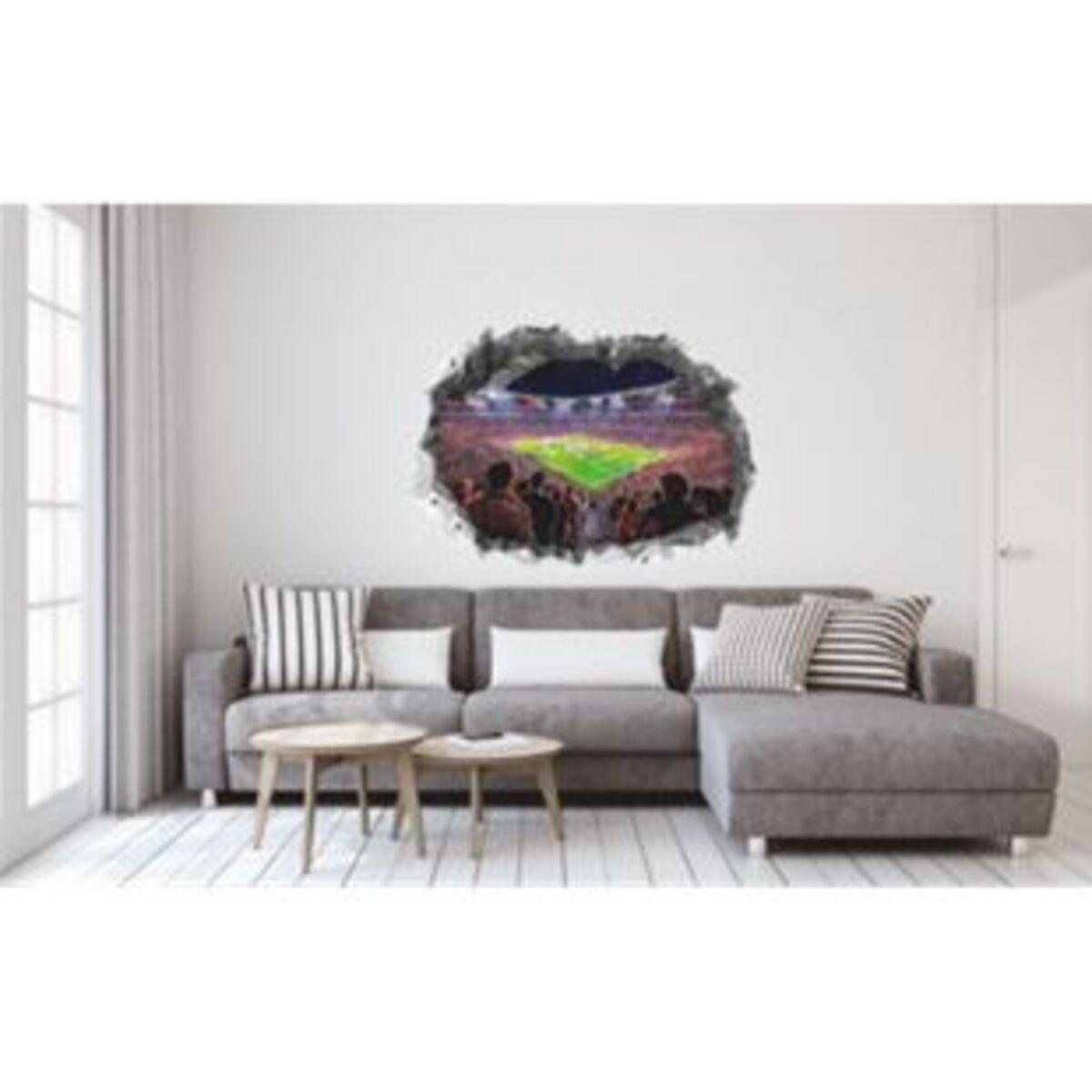 Bild 2 von FCB Wandtattoo 3D nachleuchtend Allianz Arena mehrfarbig