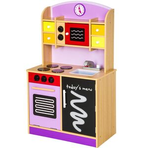 Kinderküche lila