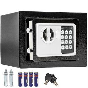 Elektronischer Safe Tresor mit Schlüssel inkl. Batterien