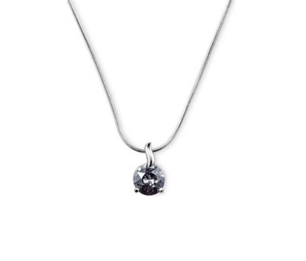 Solitär-Kette verziert mit Swarovski® Kristall
