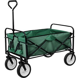 Faltbarer Bollerwagen grün
