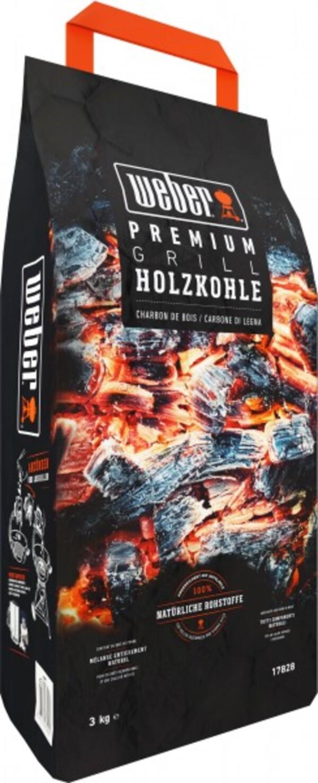 Weber Premium Holzkohle ,  3 kg