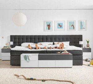 Ergodream Familienbett Lund 240 x 200 cm