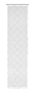 Flächenvorhang Jasmin in Grau ca.60x245cm