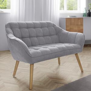Sofa in Hellgrau 'Monique'