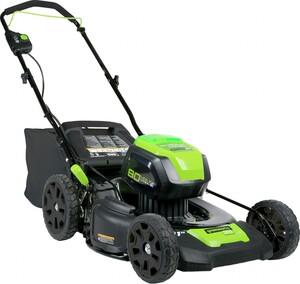 Greenworks Akku-Rasenmäher 80 V mit Radantrieb ´´51 cm Schnittbreite, 80 V, ohne Akku, ohne Ladegerät,´´