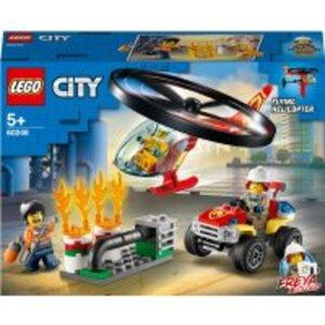 LEGO City 60248 Einsatz mit Feuerwehrhubschrauber