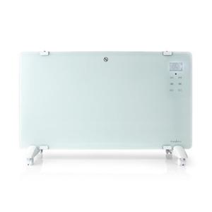 Nedis WLAN-Smart-Konvektionsheizgerät | Thermostat | Glas-Frontplatte | 2000 W | Weiß