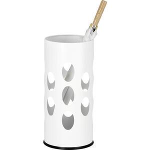 SCHIRMSTÄNDER Metall Weiß