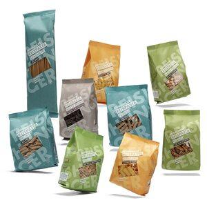 Reishunger 9er Set Großes Reishunger Reispasta Set 5x400g, 4x240g