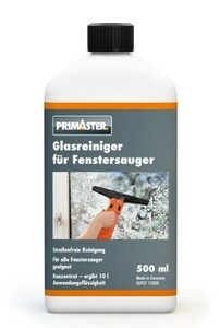 """PRIMASTER Glasreiniger für Fenstersauger """"500 ml"""""""