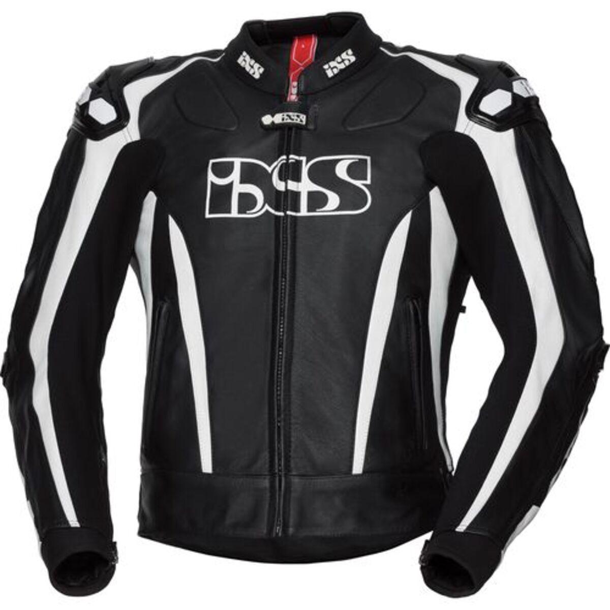 Bild 1 von IXS            Sport LD Jacke RS-1000 schwarz/weiß