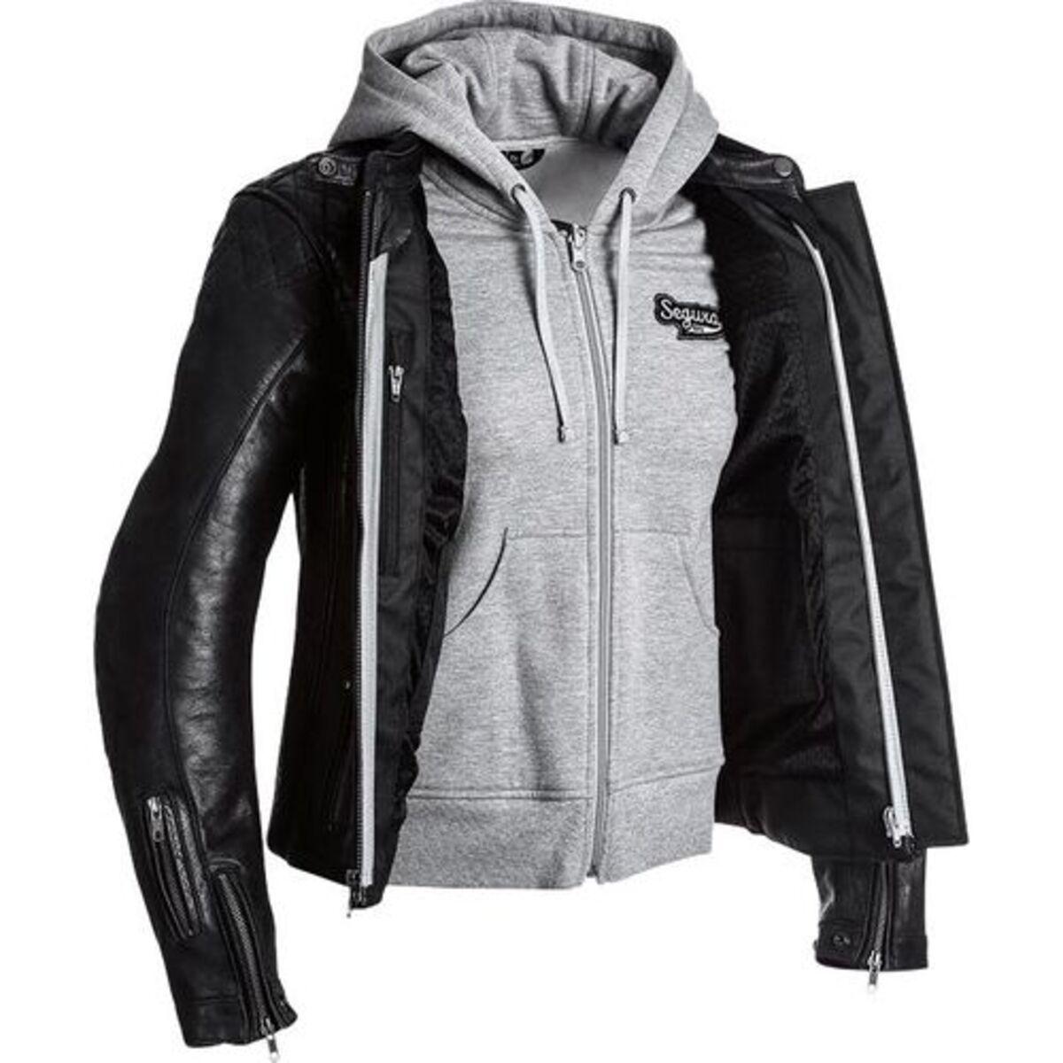Bild 1 von Segura            Style Damen Lederjacke schwarz