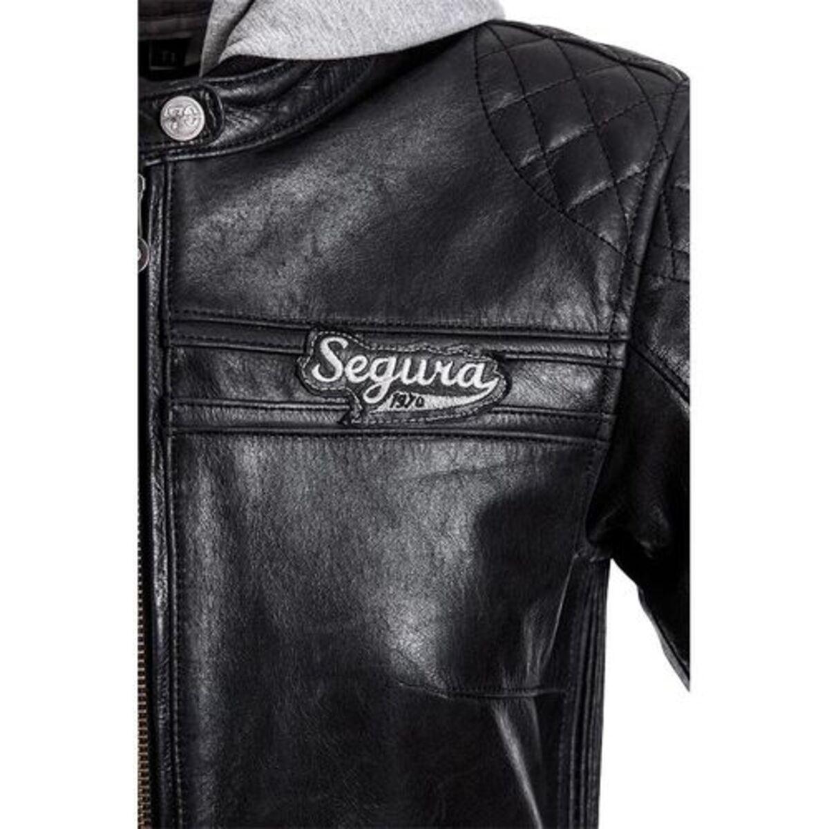 Bild 4 von Segura            Style Damen Lederjacke schwarz