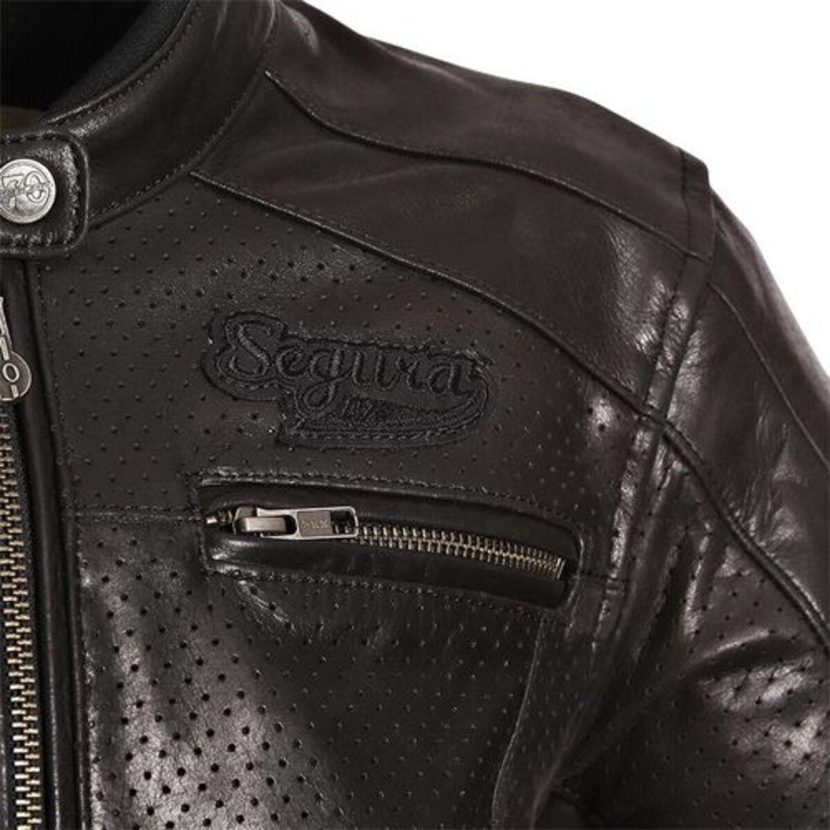Bild 3 von Segura            Iron Damen Lederjacke schwarz