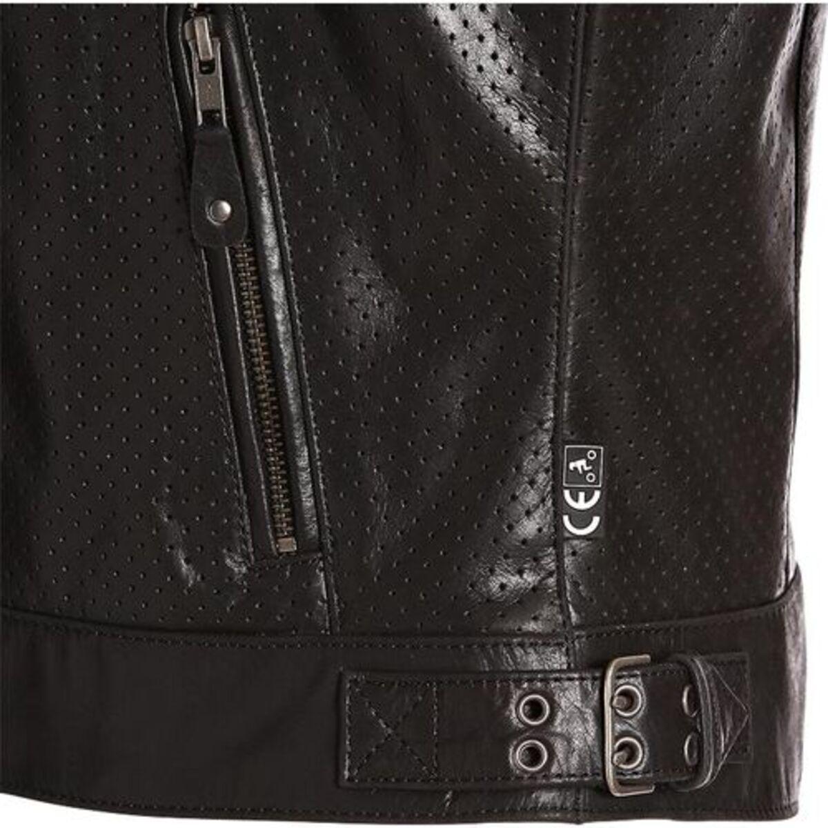 Bild 4 von Segura            Iron Damen Lederjacke schwarz